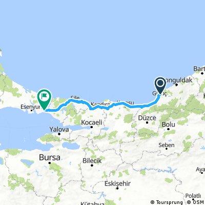 Eregli to Istanbul