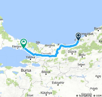 Eregli to Istanbul 2