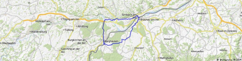 Anradeln Marktl - Simbach - Marktl