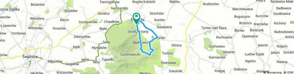 Trasa Visegrad 2017 18 km