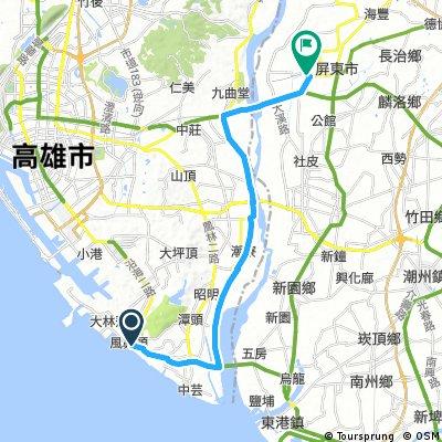 8月19日 6K-320 路線