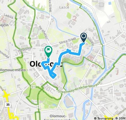 17-01 Olomouc/Olomouc Stadtbesichtigung