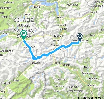 Svájc - 5. nap