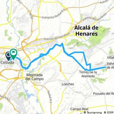 Coslada - Los Hueros - Pinar de Valverde - Torres de la Alameda - Coslada