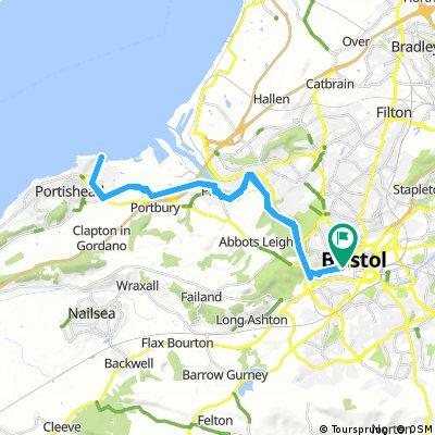 Long bike tour through Bristol