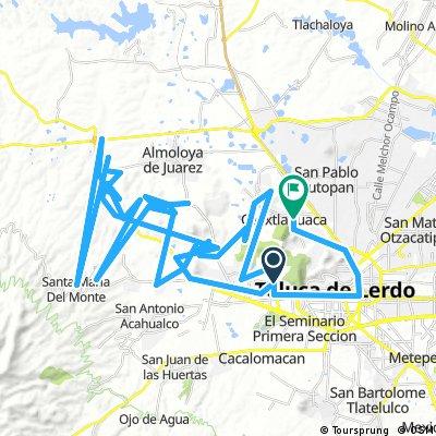 Long bike tour from 26/02/17 12:55