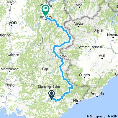 100 cols km 2777 - km 3501