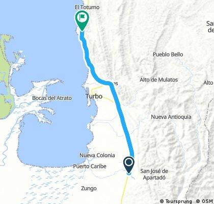 3 mi primer ruta