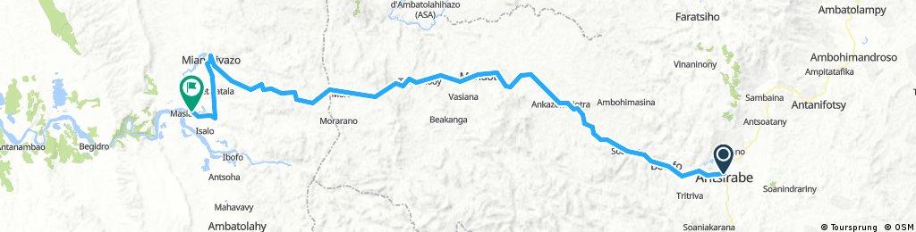 Antsirabe - Mandrivaso - Masiakampy