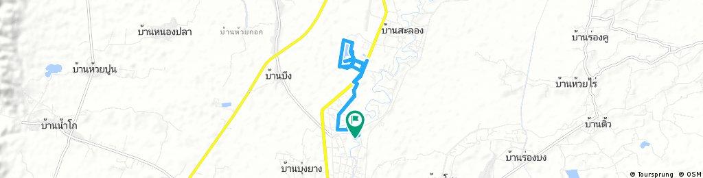 ride through Lom Sak