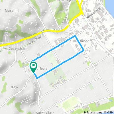 Short bike tour through Forbury