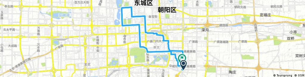 北京城区轻骑