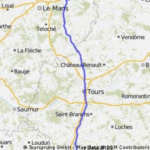 La Ferte Bernard - Châtellerault