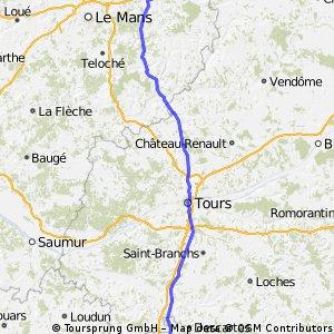 La Ferte Bernard - Chatellerault
