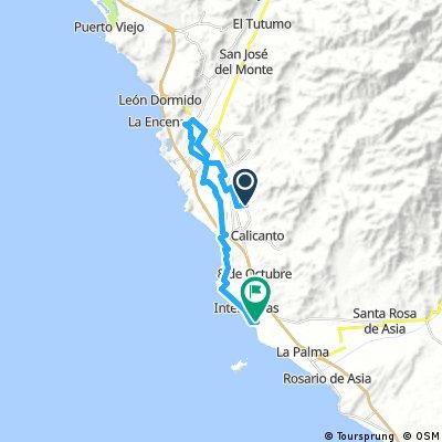 Long bike tour from Mala to Asia