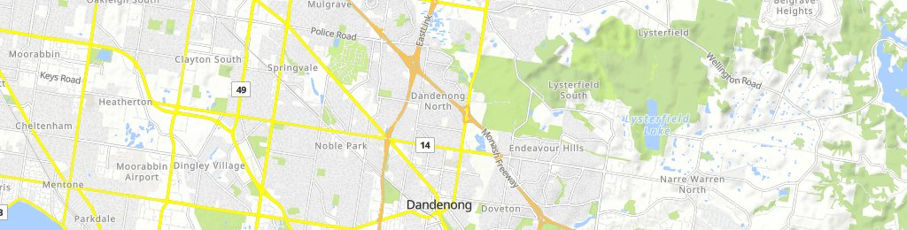 bike tour from Dandenong to Mulgrave