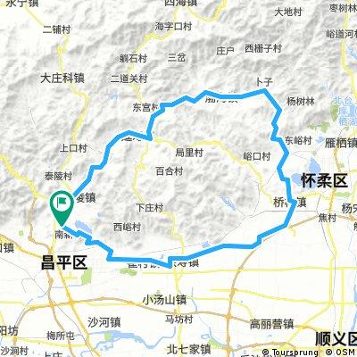 长陵-黄花城-桥梓 环线