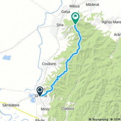 Bike map Siria - Ghioroc