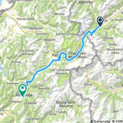 Gersau - Nizza: 3. Etappe
