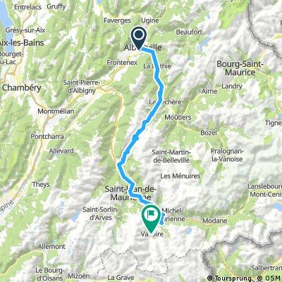 Gersau - Nizza: 4. Etappe