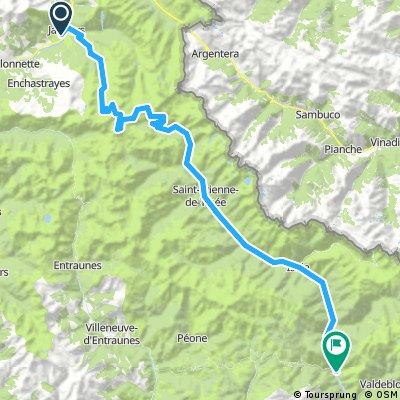 Gersau - Nizza: 7. Etappe