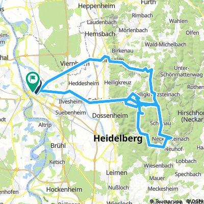 Mannheim route