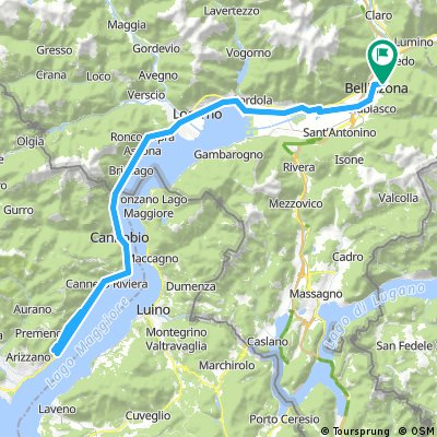 Bellinzona - Sacro Monte di Ghiffa
