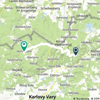 3 etapa puťáku Krušné hory 2014