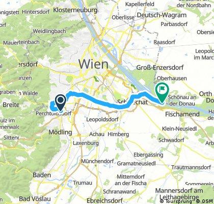 Dürr & Reiche Liesing - Schwechat - Donau