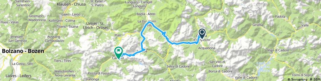 BI 25. Cortina d'Ampezzo - Canazei