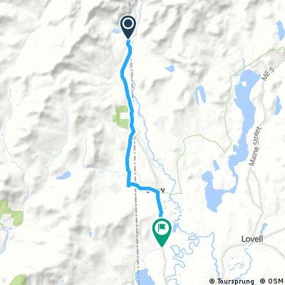 Loon Echo Trek 2017 100 miler - 6th segment