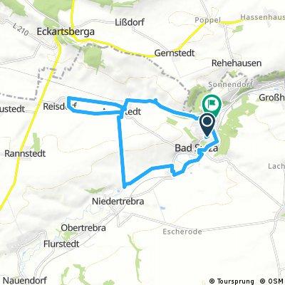 Ausfahrt durch Bad Sulza, Eckerberge,Auerstedt
