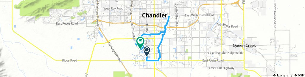 South Chandler- Ocotillo and Paseo Trail