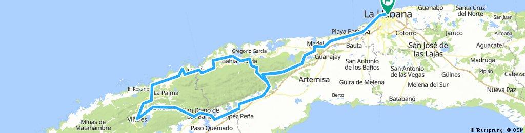 havana to vinales round trip 6 days