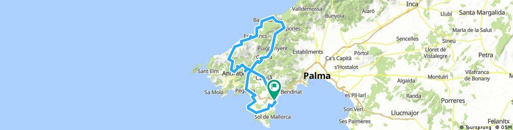 Cabau Aquasol - Serra de Tramuntana Loop