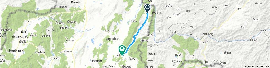 J065 – Samedi 11 mars 2017 Ban Lai Ngoa – Ban Pi (intersection Routes 1021 et 1155)