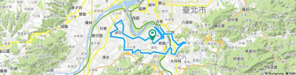 2017-03-11 Long bike tour through