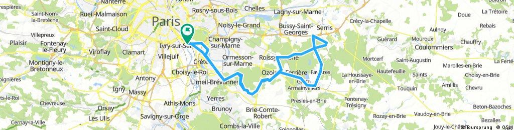 Lengthy bike tour from 11 mars 11:58