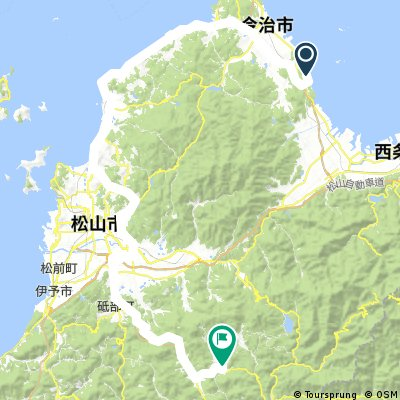 Route to the dude ranch - Kumakogen Furusatoryokomura Camping Ground, Japan, 〒791-1212 愛媛県上浮穴郡久万高原町下畑野川乙488