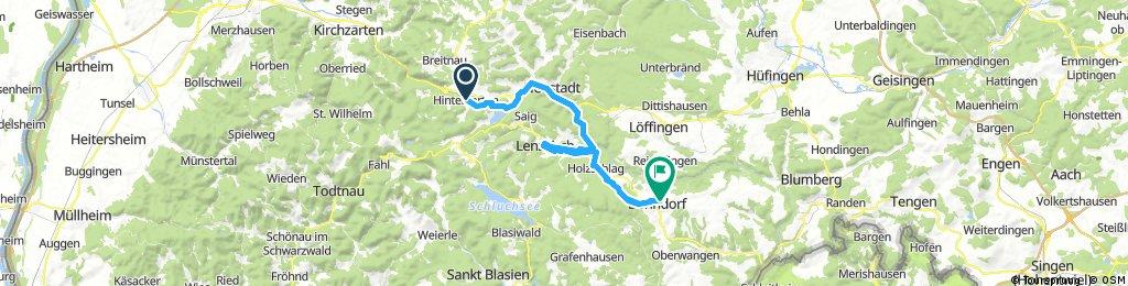 SRW - Hinterzarten - Bonndorf