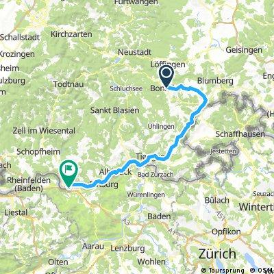 SRW - Bonndorf - Bad Säckingen