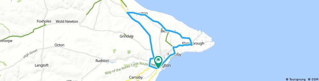 ride through Bridlington