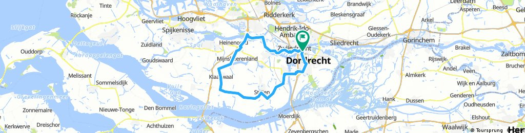 Lengthy ride from Pastviny to Dordrecht