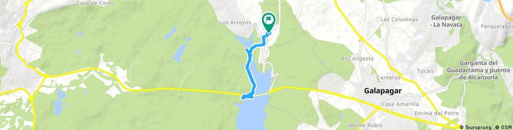 Short ride through El Escorial