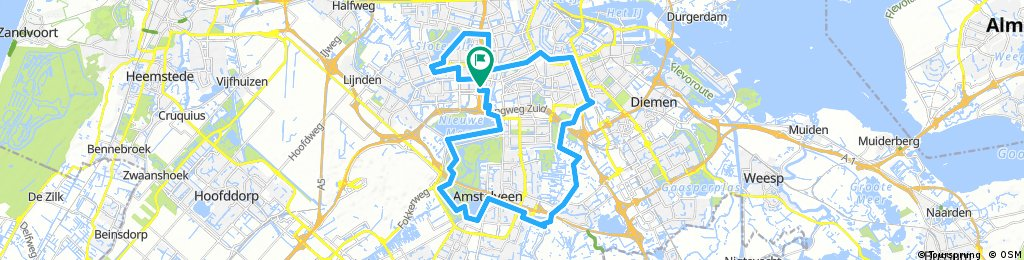 bike in amsterdam parks