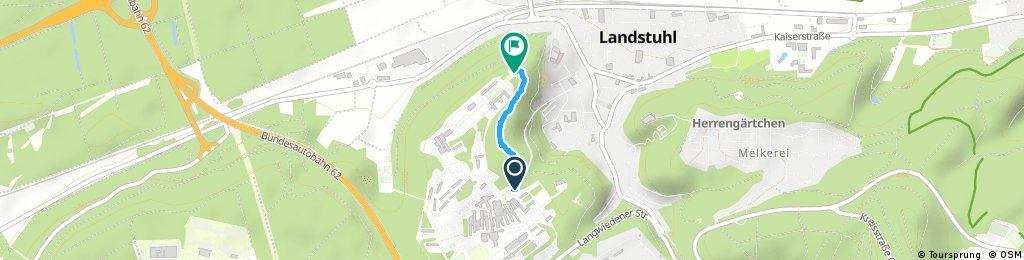 Brief bike tour through Landstuhl