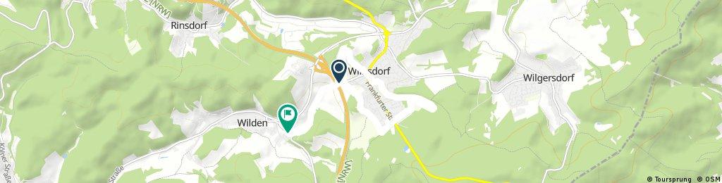 Schnelle Radrunde durch Wilnsdorf