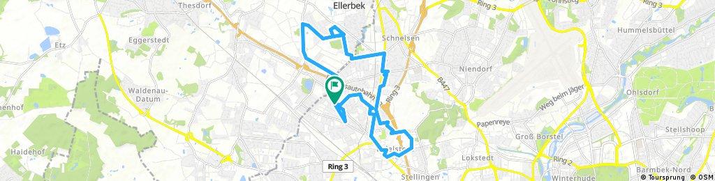 Radrunde durch Hamburg