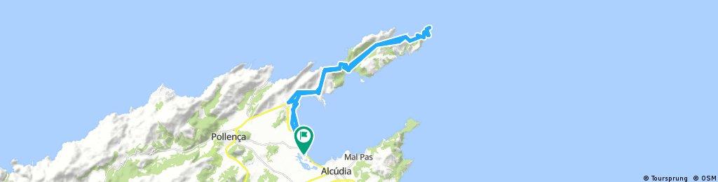 Long ride through Alcúdia