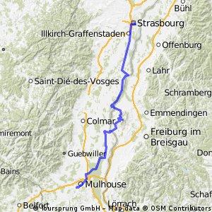 2005 2.Tag Gruppe Rot Schwarz  Strasbourg-Mulhouse